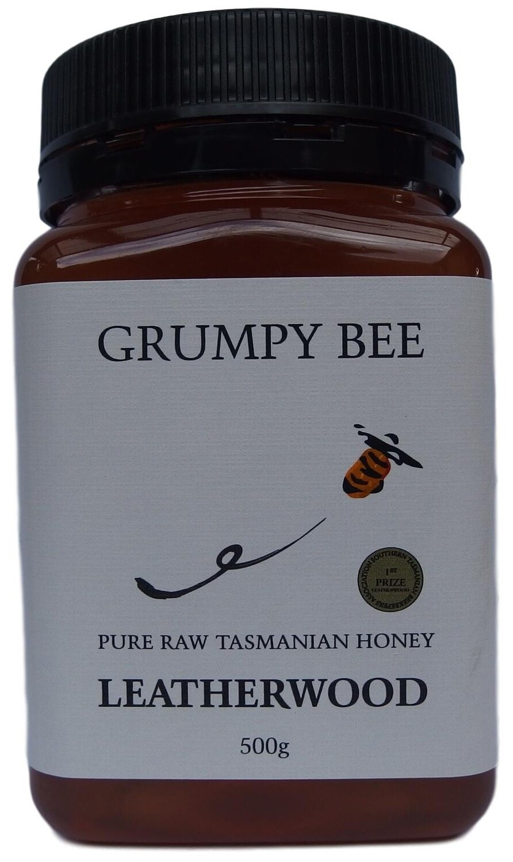 Grumpy Bee Leatherwood Honey 500g