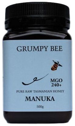 Grumpy Bee Manuka Honey MGO 240+ 500g