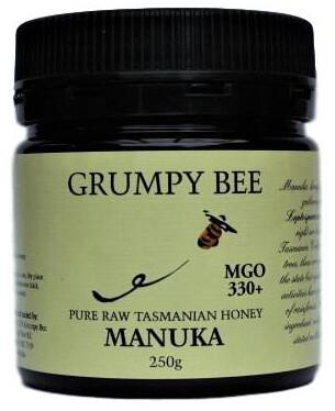 Grumpy Bee Manuka Honey MGO 330+ 250g