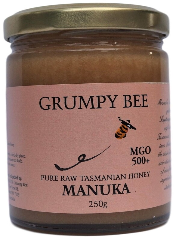 Grumpy Bee Manuka Honey MGO 500+ 250g