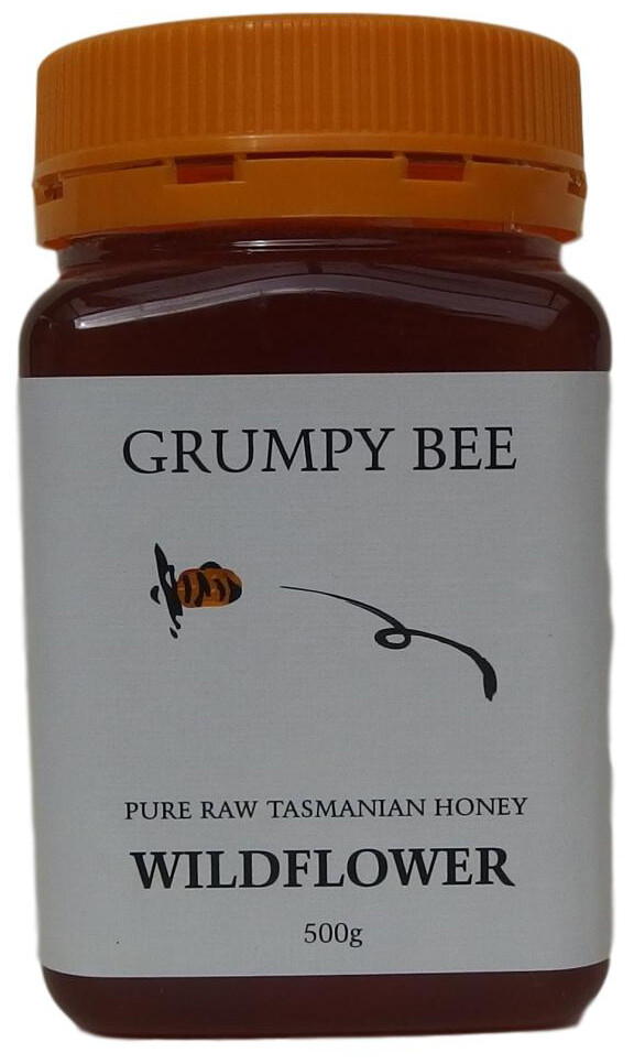 Grumpy Bee Wildflower Honey 500g
