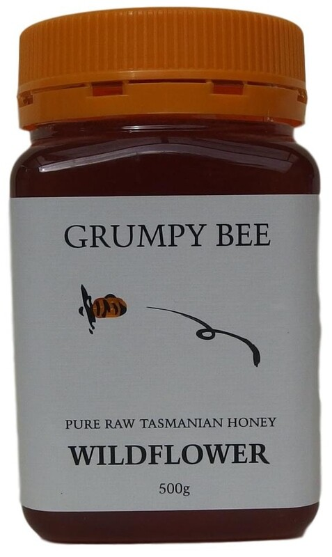 Grumpy Bee Wildflower Honey 500g