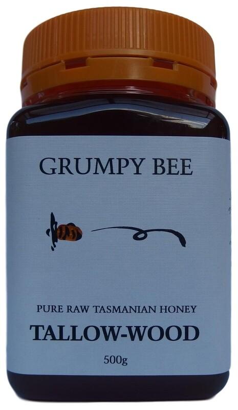 Grumpy Bee Tallow Wood Honey 500g