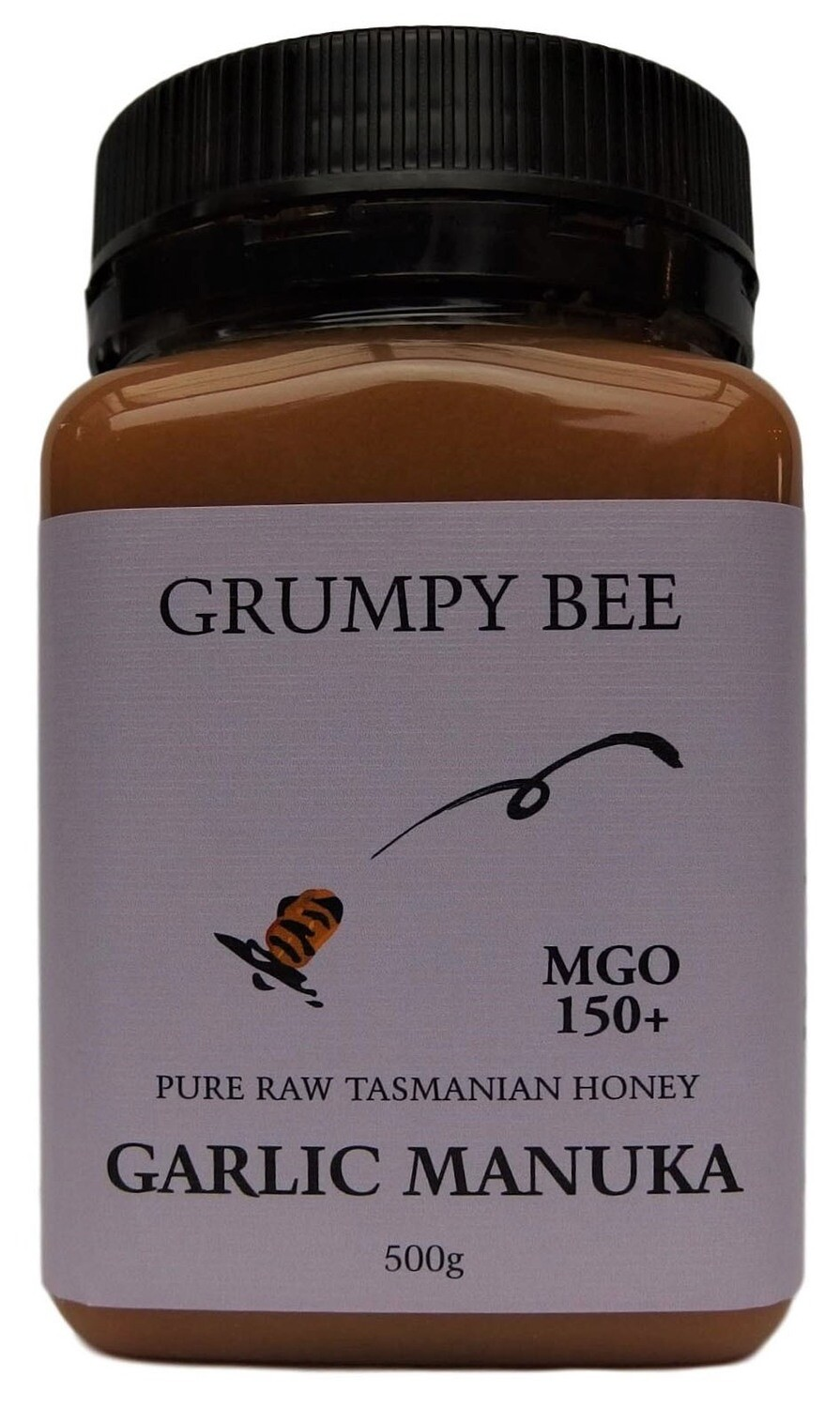 Grumpy Bee Garlic Manuka Honey MGO 150+ 500g