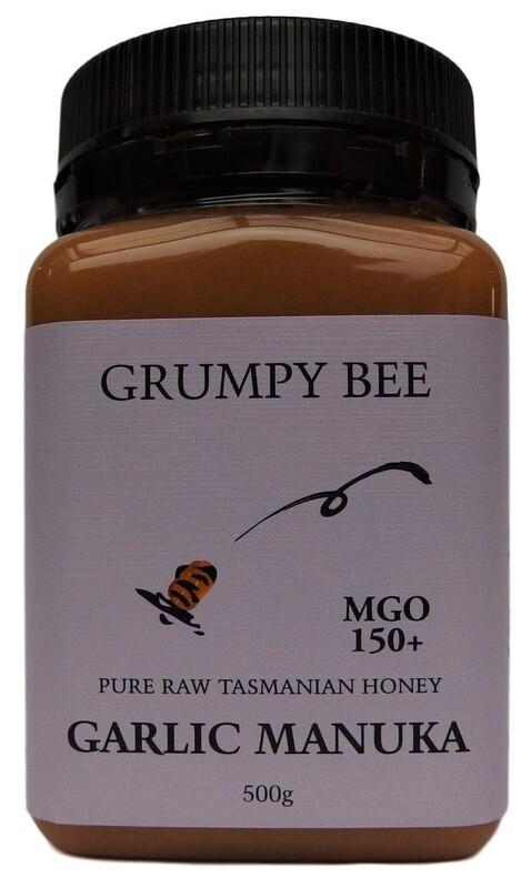Grumpy Bee Garlic Manuka Honey MGO 150+ 500g