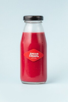 Пюре малиновое «Дикая Сибирь» ст.бутылка 200 г