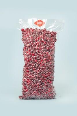 Клюква замороженная вакуум пакет 1 кг