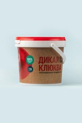 Пюре клюквенное «Дикая Сибирь» пласт. ведерко 1 кг