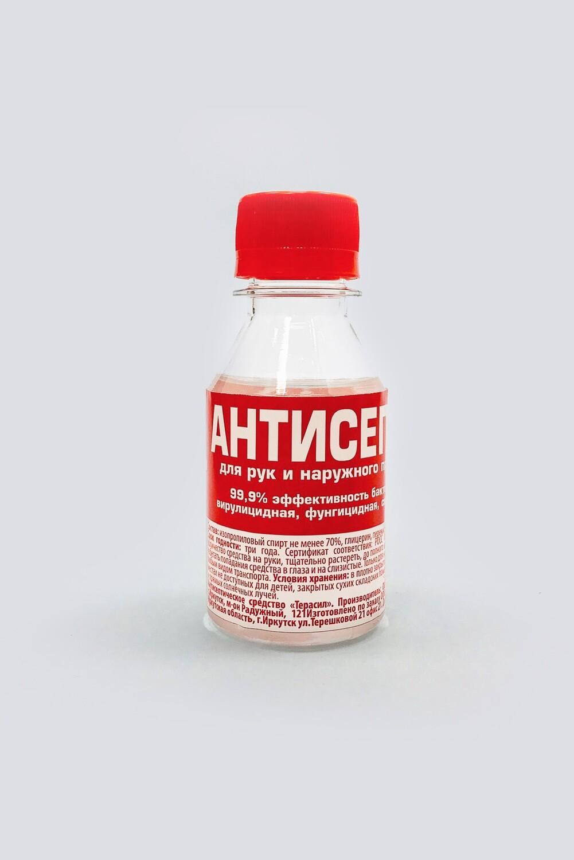 Антисептическое средство  для рук с эфирным маслом упак. в ООО «Дикая Сибирь», 100 мл