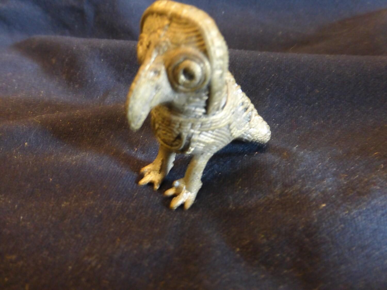 Chouette en bronze