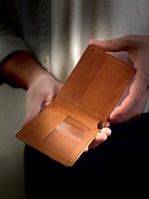 Simple Billfold Wallet with Photo Holder DIY Kit