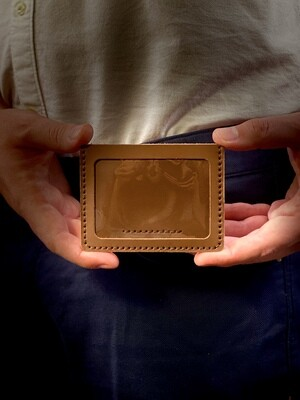 Simple Slim Card Holder with Photo Sleeve DIY Kit