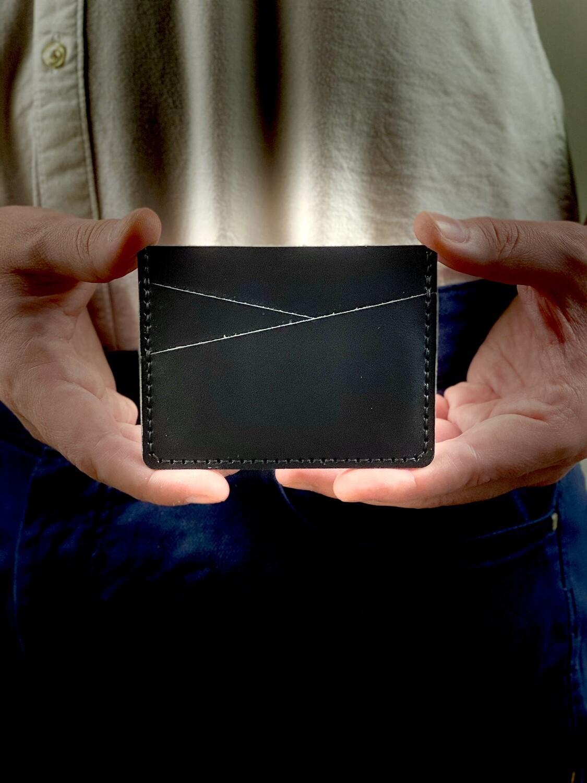 Diagonal Simple Slim Card Holder DIY Kit
