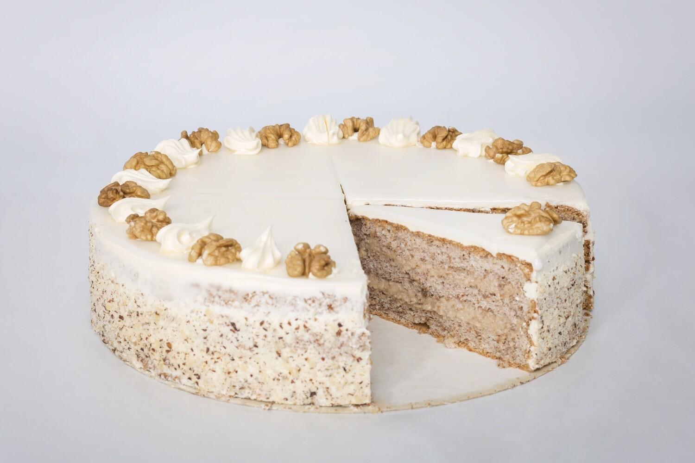 Russische-Nuss Torte, 1 Stück