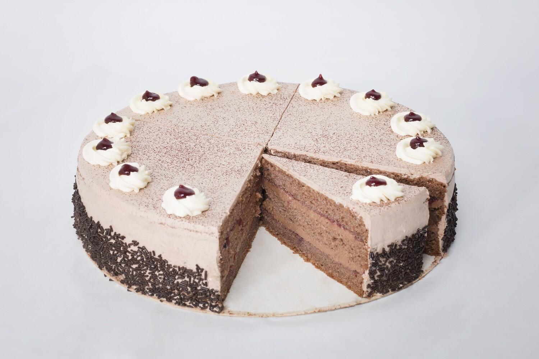 Schoko-Weichsel Torte, 1 Stück