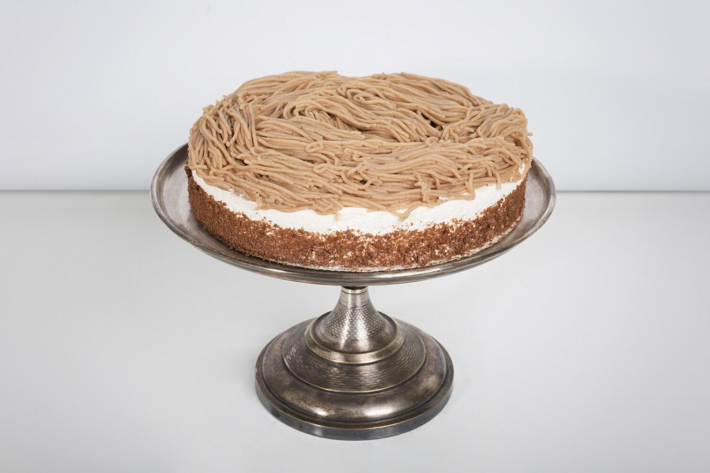 Maroni-Obers Torte, 1 Stück