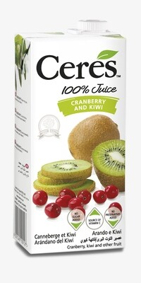 CERES 1000ML - CRANBERRY / KIWI