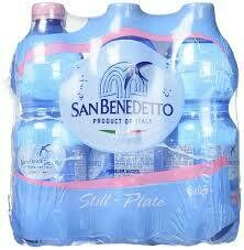 SAN BENEDETTO STILL WATER 500ML 6 PK