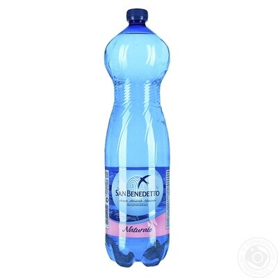 SAN BENEDETTO STILL WATER BLUE 1500ML EA