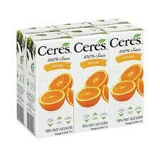 CERES 200ML - ORANGE - 6 PACK