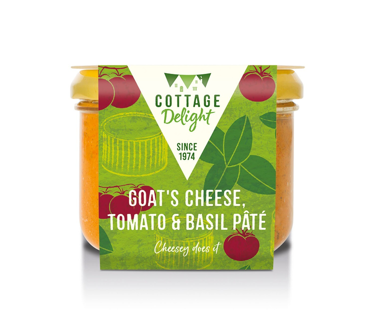 COTTAGE DELIGHT GOATS CHEESE PATE 180G