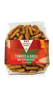 COTTAGE DELIGHT MINI BREADSTICKS TOMATO & BASIL