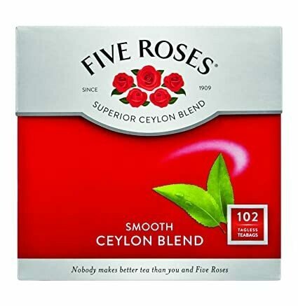 FIVE ROSES CEYLON BLEND SELECT 102'S TEA