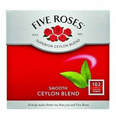 FIVE ROSES CEYLON BLEND SELECT 102'S TEA