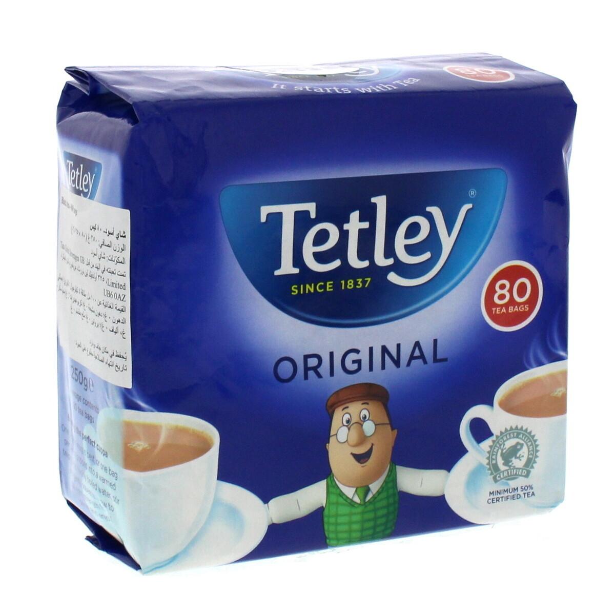 TETLEY TEA BAGS 80s