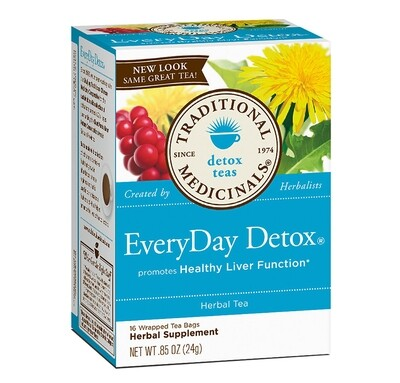 TRADITIONAL MED HERB EVERYDAY DETOX TEA