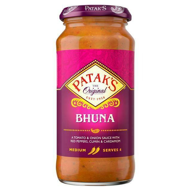 PATAKS BHUNA CURRY SAUCE 450G