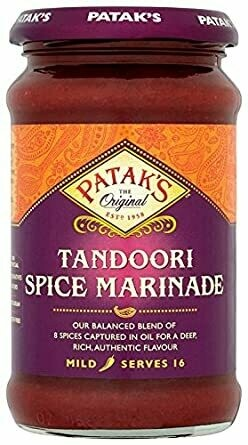 PATAKS TANDORI  CURRY PASTE JAR 312G