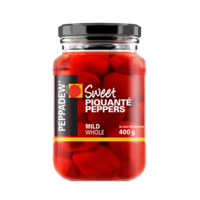 PEPPADEWS MILD PIQUANTE PEPPERS WHOLE