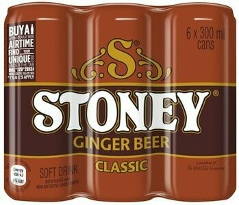 STONEY GINGER BEER- 6-PACK