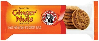 BAKERS GINGER NUTS 200g
