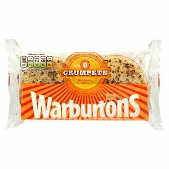 WARBURTONS 6'S CRUMPETS 396G