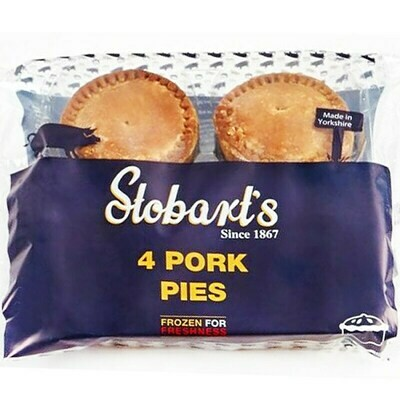 STOBARTS (YEARSLEY) 4 PORK PIES