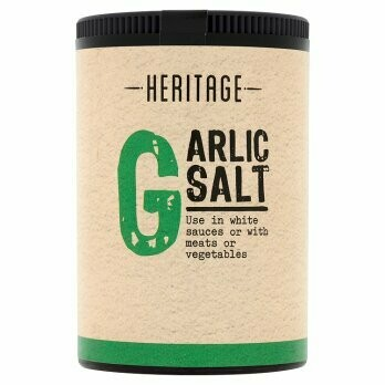 HERITAGE GARLIC SALT 100G