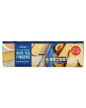 HERITAGE RICH TEA FINGERS 250G