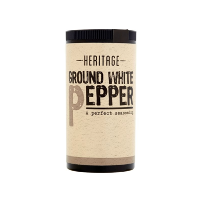 HERITAGE GROUND WHITE PEPPER 25G