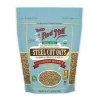 BOBS RED MILL STEEL CUT OATS 24OZ
