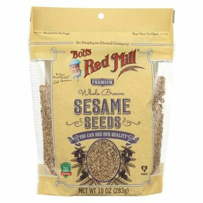 BOBS RED MILL SESAME SEEDS 10 OZ EA