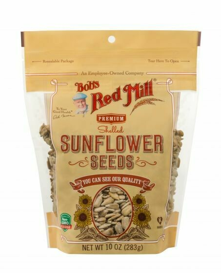 BOBS RED MILL - SHELLED SUNFLOWER SEEDS 10 OZ