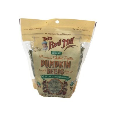 BOBS RED MILL PUMPKIN SEEDS 12 OZ EA