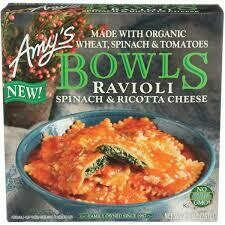 AMY'S BOWLS - RAVIOLI