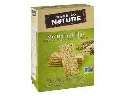 BACK TO NATURE CRACKERS FLATBREAD MULTIGRAIN
