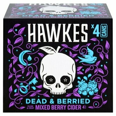 BREWDOG - DEAD & BERRIED 4 PACK X 330ML CAN