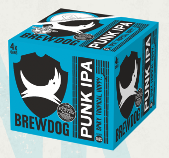 BREWDOG - PUNK IPA 4PK X 330ML CAN