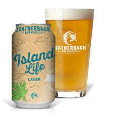 LEATHERBACK ISLAND LIFE LAGER 4.9% 330ml