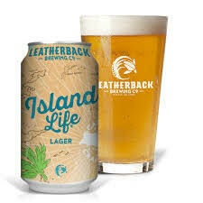 LEATHERBACK ISLAND LIFE LAGER 4.9% 330ml